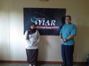 Berfose di studio Syiar