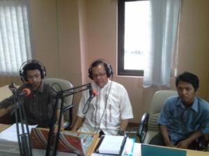 Menyiar di Radio Kampus UIN